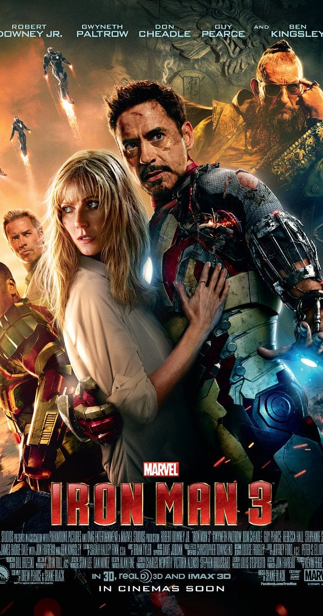 Iron Man 3 Movie Poster - Marvel Cinematic Universe