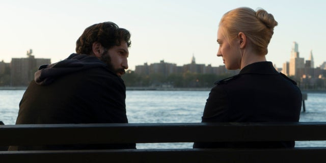 Jon Bernthan and Deborah Ann Woll in Marvel's The Punisher