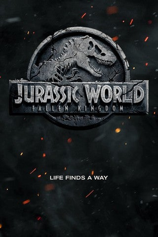 Jurassic World: Fallen Kingdom movie poster image