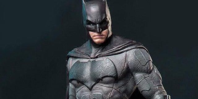 justice league batman iron studios statue