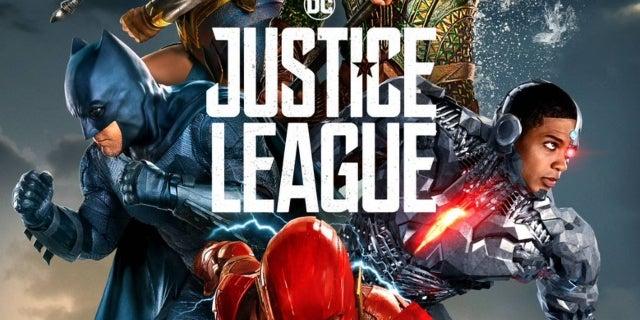 Justice League Final Poster