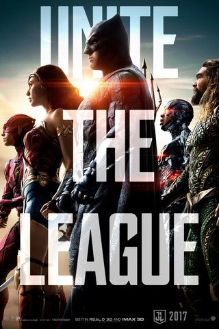 Justice League movie poster image