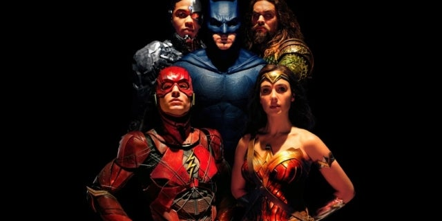 Justice League Shadow Poster 06