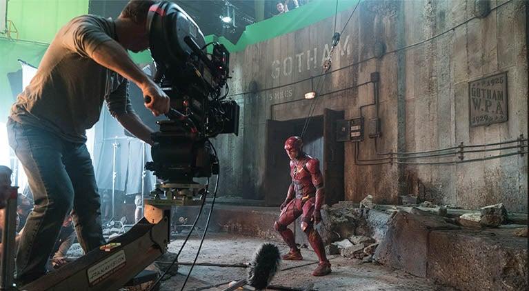 justice league the flash gotham