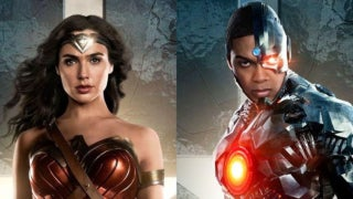 Justice League Wonder Woman Cyborg Week