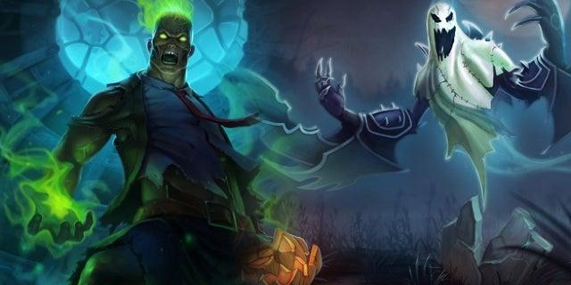 League of Legends Halloween Skins
