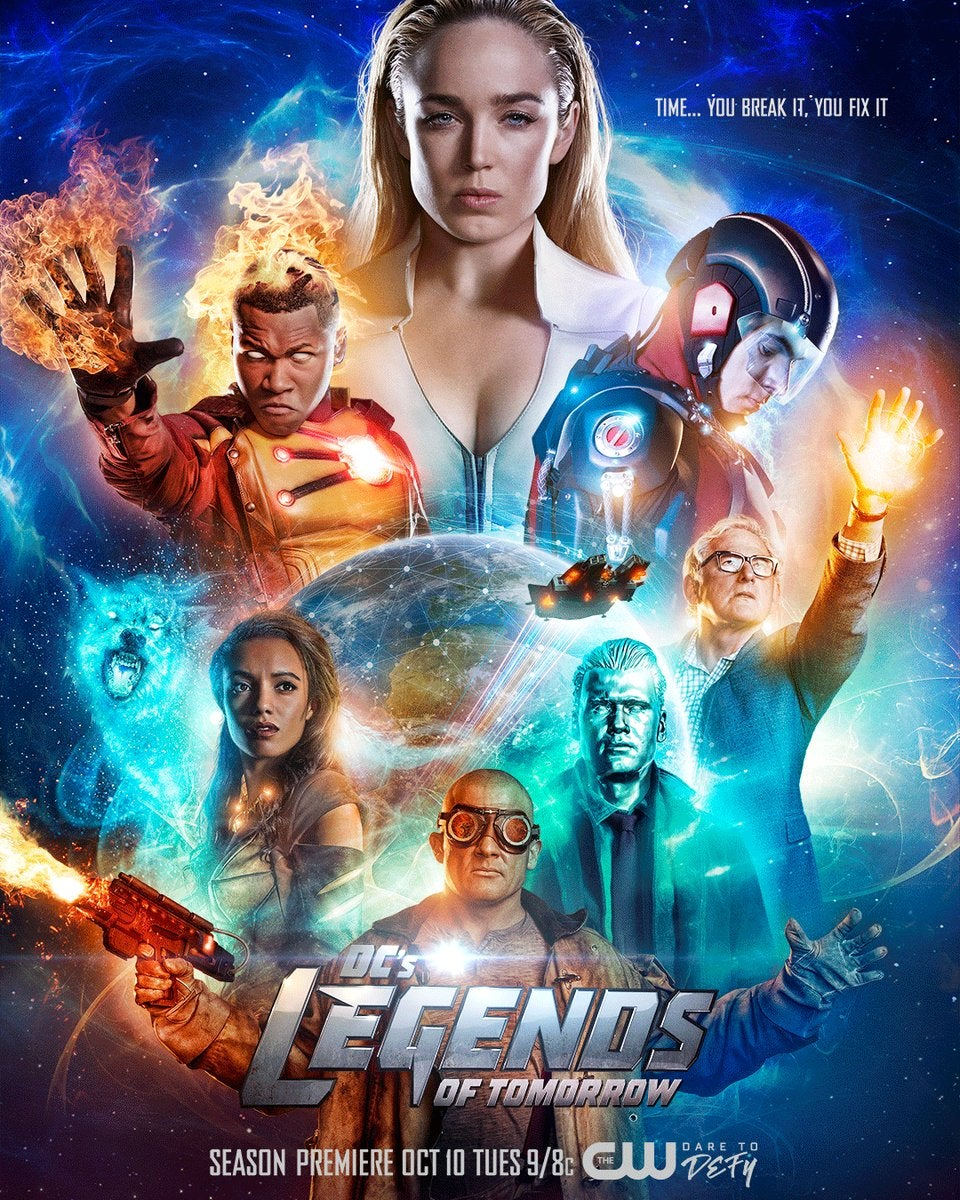 Poster Legends of Tomorrow Season 3