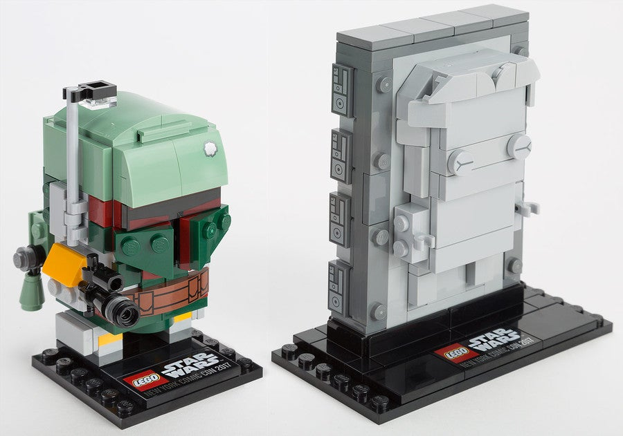 LEGO Star Wars' NYCC Exclusive Features Han Solo In Carbonite and ...