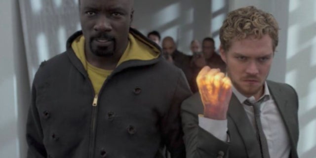 luke cage iron fist