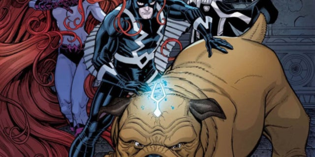 Marvel Comics Inhumans - Black Bolt