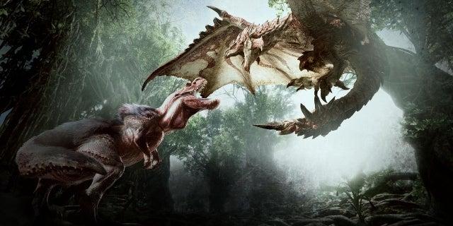monster hunter world reveal artwork 3
