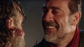 Negan Kills Death Walking Dead Season 8