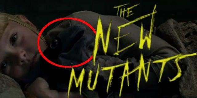New Mutants Lockheed Easter Egg