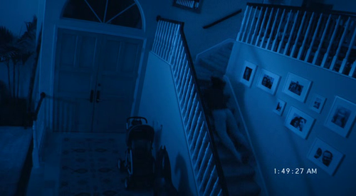 paranormal activity 2 stairs