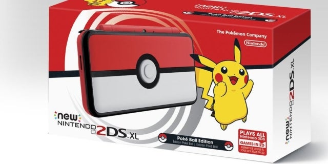 Pokemon themed nintendo 2ds xl has a special easter egg for Housse 2ds xl pokemon