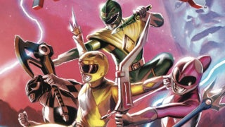Power Rangers Artist Tribute Book-Header