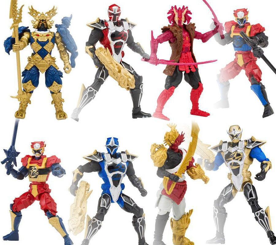 power rangers super ninja steel 5 figures