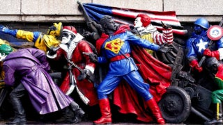 Russia-Superhero-Statues