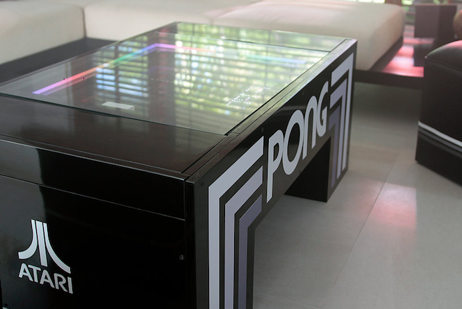 The Atari Pong Table Gets A Distribution Deal One Step Closer To - Atari coffee table