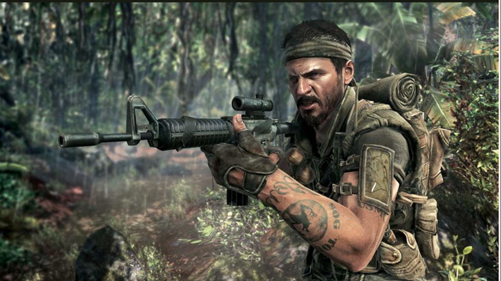 Sgt Frank Woods Black ops by spyash2