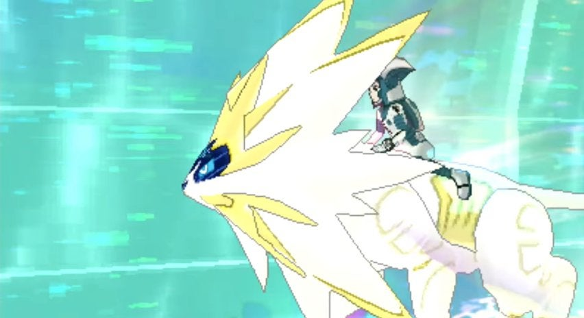 Japanese Pokémon Ultra Sun and Ultra Moon Trailer Focuses on Necrozma