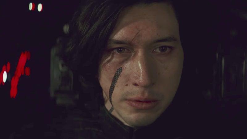 Star Wars 8 Last Jedi Kylo Ren Kills Leia