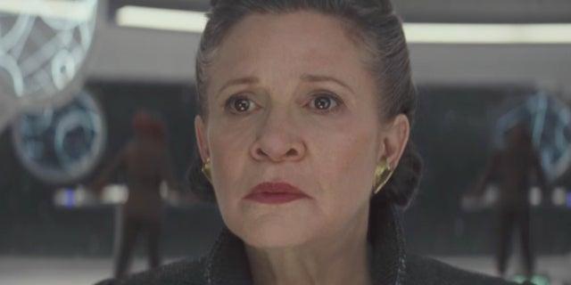 Star Wars 8 Last Jedi Leia Death Scene