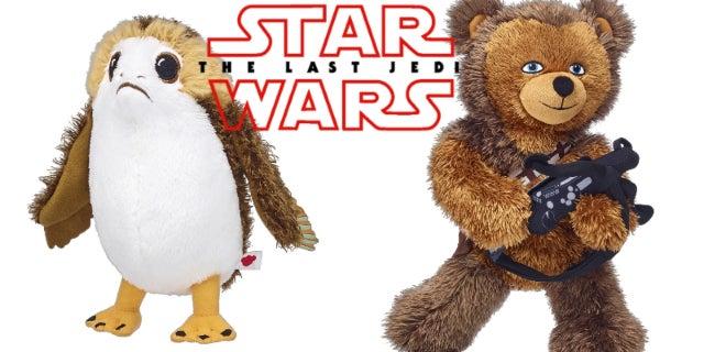 Star Wars Last Jedi Build-a-Bear - Porg