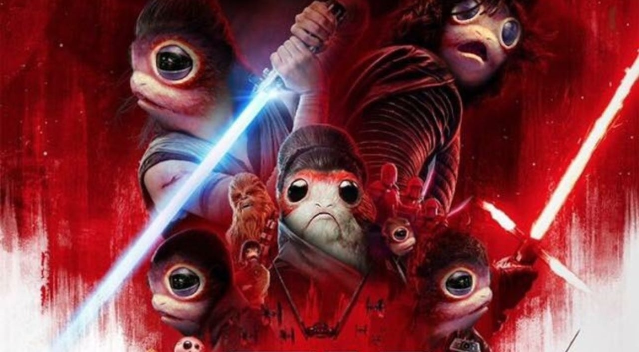 An awesome porg