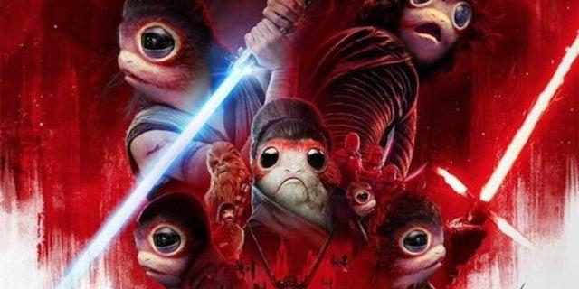Star Wars The Last Jedi Porg Poster