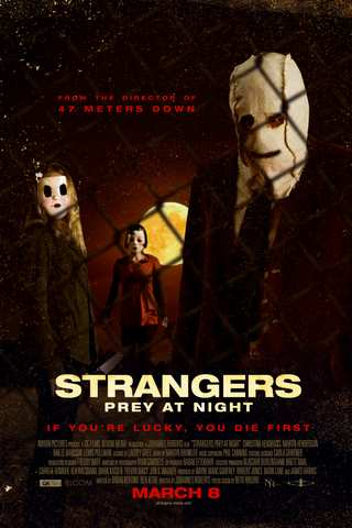 The Strangers: Prey at Night movie poster image