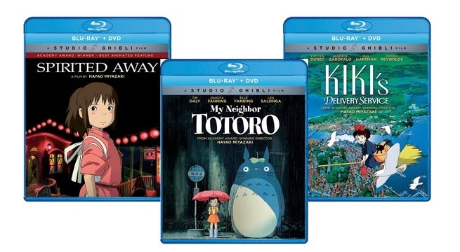 Amazon is Running A Huge Sale On Studio Ghibli Blu-ray Re