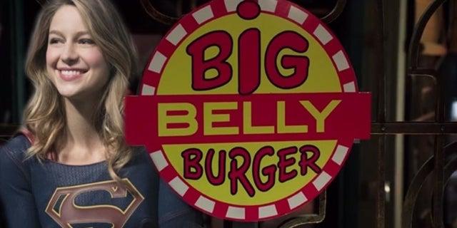 supergirl big belly burger