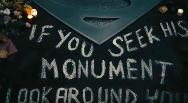 Superman-Monument