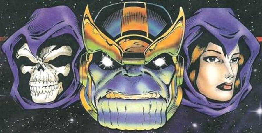 Thanos Death marvel