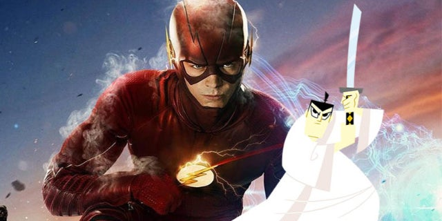 the flash samurai jack easter egg