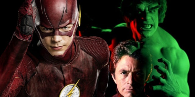 the flash the incredible hulk