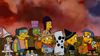 the simpsons grand pumpkin treehouse of horror