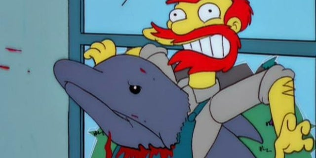 the simpsons treehouse of horror night of the dolphin
