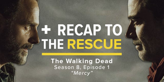 The Walking Dead 8x01 - Recap To The Rescue screen capture