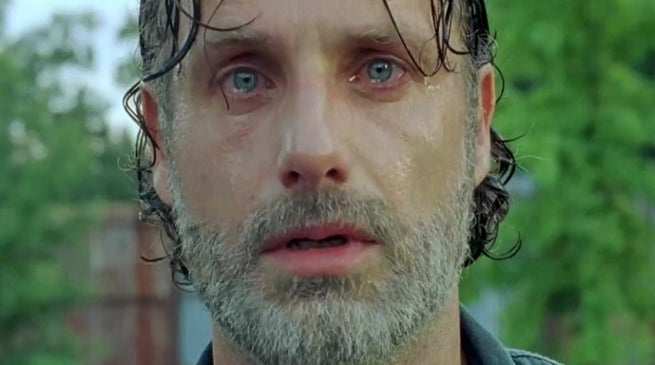The Strolling Ineffective Season Eight Rick Grimes Loss of life