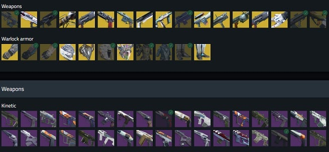 This Amazing Tool Tracks Every Item in Destiny 2, Showing