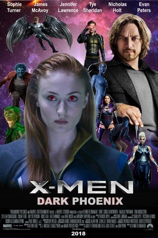 X-Men: Dark Phoenix movie poster image