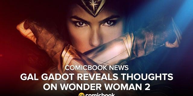 'Wonder Woman' Star Gal Gadot Reveals Her Thoughts On Sequel screen capture