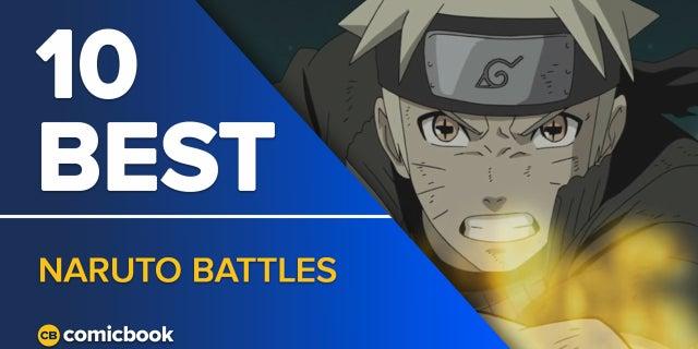 10 Best Naruto Battles screen capture