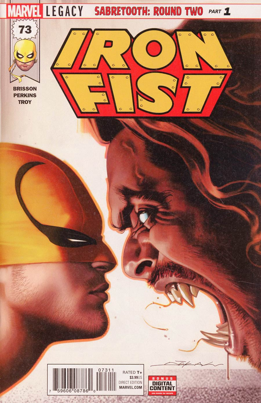 Iron Fist (2017) Issue 73