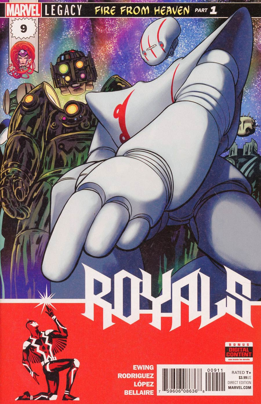 Royals (2017) Issue 9