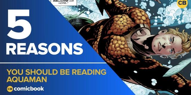 5 Reasons You Should Be Reading Aquaman screen capture