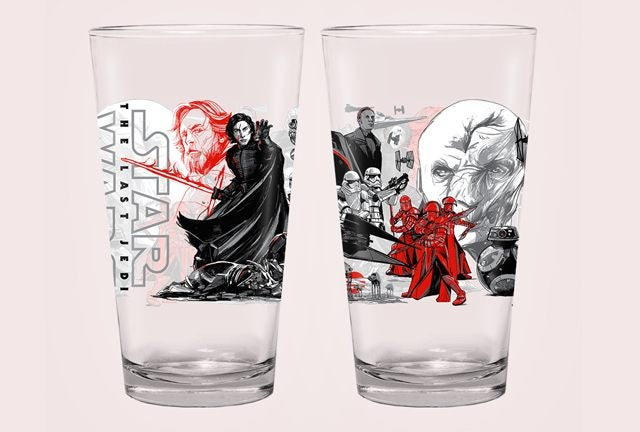 alamo drafthouse the last jedi dark side glass