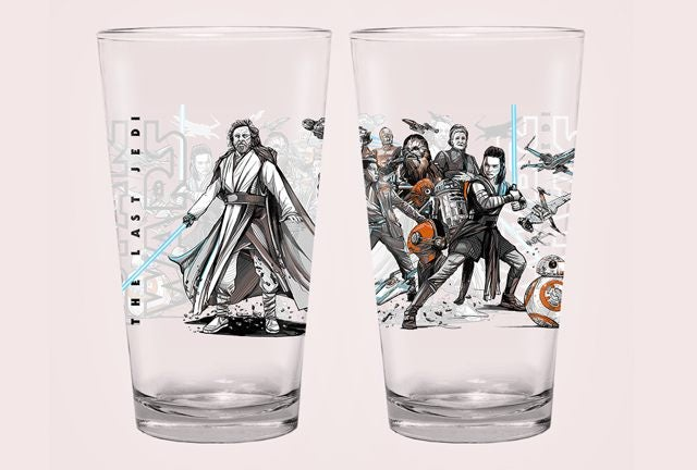 alamo drafthouse the last jedi light side glass